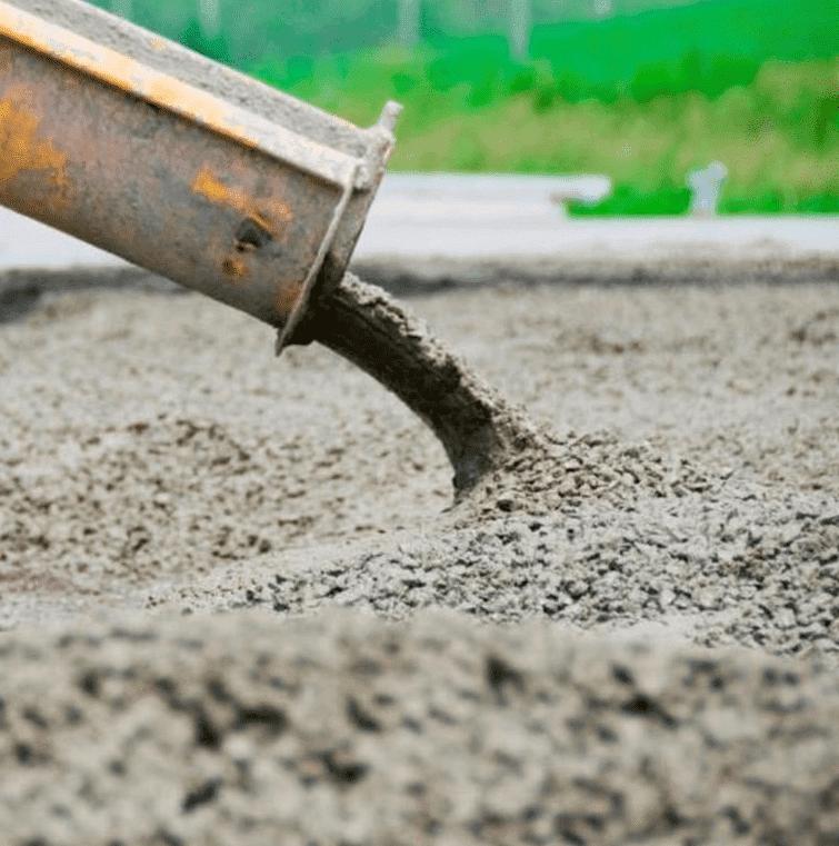 смесь бетонная на гранитном щебне в22 5